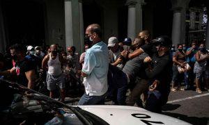 اعتراض هزاران کوبایی به روند کُند واکسیناسیون و کمبود برق